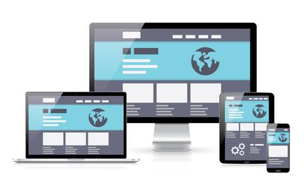 Internetagentur / WordPress Mönchengladbach - Responsive WebDesign Grafik