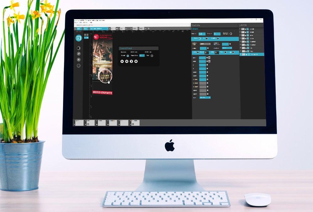 Internetagentur / WordPress Agentur Mönchengladbach - Display Ads Animation