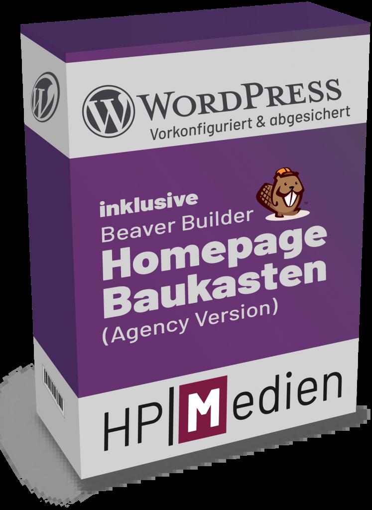 Abbildung WordPress vom Profi inklusive Homepage Baukasten