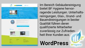 Foto zeigt Informationen über BF Hygiene