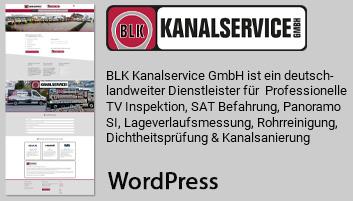 Foto zeigt Informationen über BLK Kanalservice