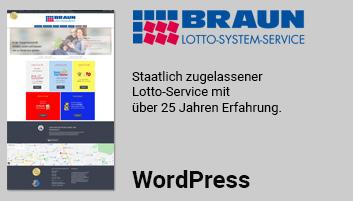 Foto zeigt Informationen über Braun Lottoservice