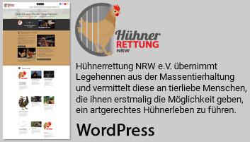 Foto zeigt Informationen über Hühnerrettung NRW