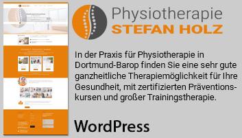 Foto zeigt Informationen über Physiotherapie Holz