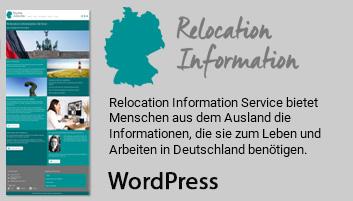 Foto zeigt Informationen über Relocation Information Service